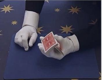 One Handed Cut of Cards
